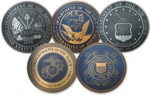 There are five military branches: Army, Air Force, Navy, Marine Corps ...