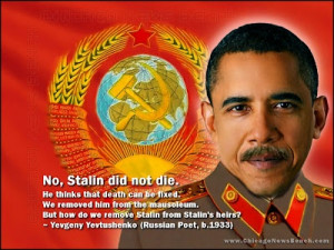 ... Bench: Obama, Stalin's Moustache, and a Quote by Yevgeny Yevtushenko