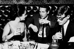 Elizabeth Taylor, Paul Newman and Roddy McDowall(via ...
