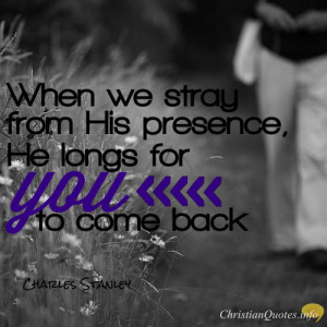 Charles Stanley Quote – 5 Ways God's Forgiveness is Different from ...