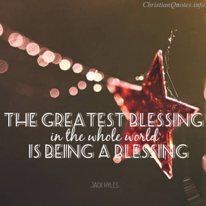 Jack Hyles Quote – 3 Simple Ways to be a Blessing to Others