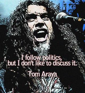 Tom Araya Vector