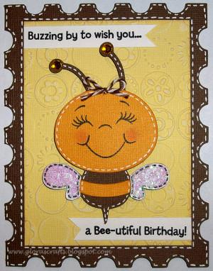 Thread: Early Birthday greetings Bizzibee 1