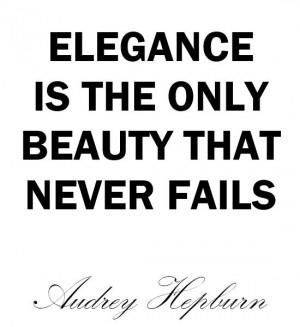 QUOTE | Audrey Hepburn says…