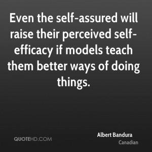 Albert Bandura Quotes