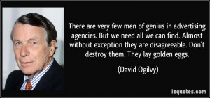 More David Ogilvy Quotes