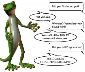 Geico Lizard Funny Picture