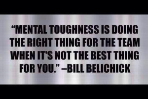 Quote- Bill Belichick @Lee Semel Hadley Baldridge