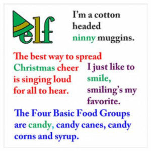elf movie quotes quotes from the christmas movie elf starring will ...