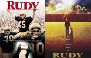 Famous quote in Rudy : Well, you know what my dad always said, Having ...