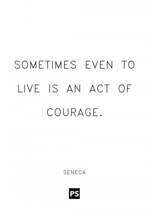 Seneca quote.
