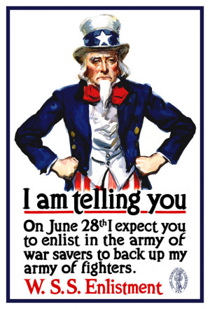 Uncle Sam -- I Am Telling You Painting