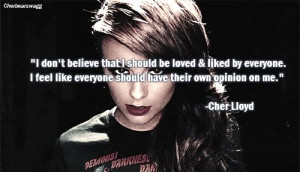 cher, cher lloyd, lloyd, quote