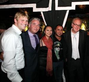 ... with John David Whalen, Spencer Garrett and George Hickenlooper