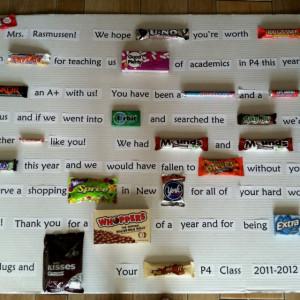 End of year teacher gift, candy bar sayingsCandy Bars, Teachers Gift ...