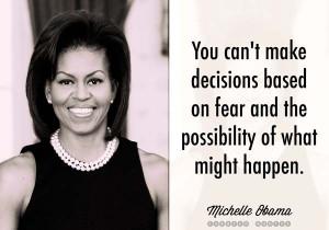 Michelle Obama Decisions