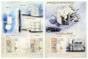 Smith House - Richard Meyer by StefyARH