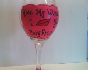 ... Quotes / Wine Gift Ideas / Pink wine glass / Funny Wine Sayings