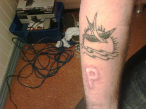 Displaying (19) Gallery Images For Pirates P Tattoo...