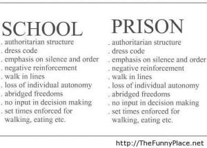 ... Prison, Quotes, Funny Schools, Education Ideas, Random, So True, Funny