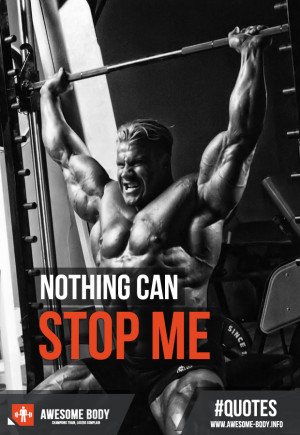 Jay Cutler Quotes | Nothing can stop me | Mr Olympia Motivation Quotes
