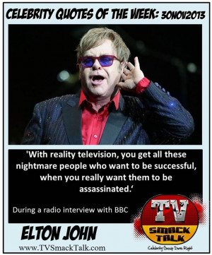 Celebrity Quotes of the Week 30NOV2013 5