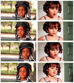 little rascals, funny quotes