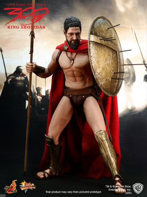 ... : Hot Toys 1/6th King Leonidas from Frank Miller's 300 (CLOSED