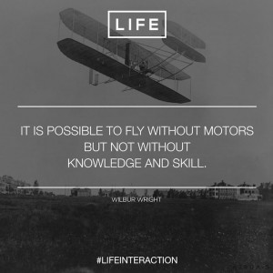 Wright Brothers Quotes