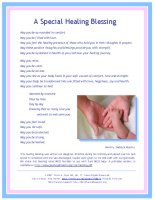 Special Healing Blessing
