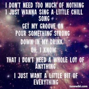 Little Big Of Everything ~ Keith Urban | quotes