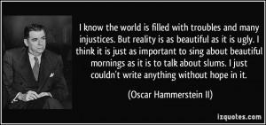 More Oscar Hammerstein II Quotes