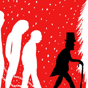 charles dickens s a christmas carol opens with the protagonist
