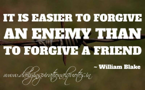 Famous Quotes and Sayings about Enemy - Enemies - It is easier to ...