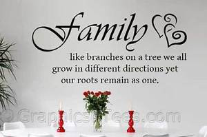Family-Wall-Sticker-Inspirational-Quote-Branches-On-Tree-Roots-Remain ...