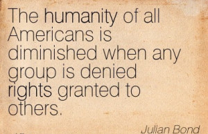 Julian Bond Quotes