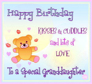 ... Birthday Cards for Granddaughters* Free Granddaughter Birthday