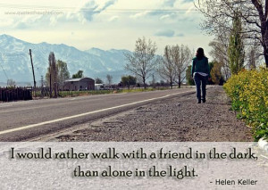 Friendship Quotes-Thoughts-Helen Keller-Real Friendship-Best Quotes