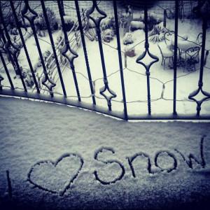 love it i love snow