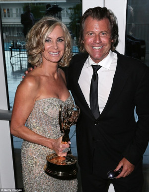 Eileen Davidson and Husband Vince