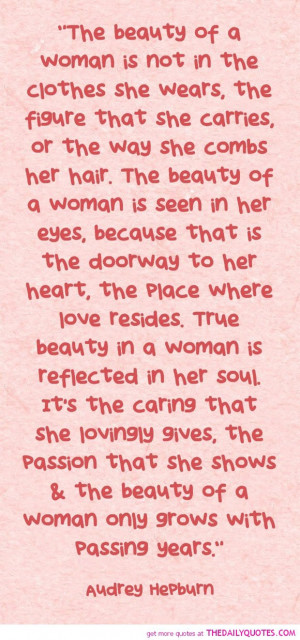 The Beauty Woman Audrey Hepburn Quotes Kootation