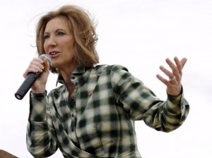 Presidential candidate Carly Fiorina just compared Hillary Clinton to ...