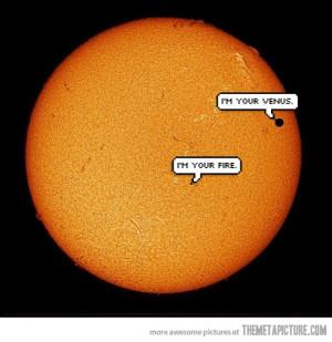 Funny photos funny venus sun eclipse photo