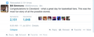 It's official, LeBron James is a Cleveland Cavalier again. Here are ...