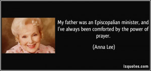 ... ve-always-been-comforted-by-the-power-of-prayer-anna-lee-109706.jpg