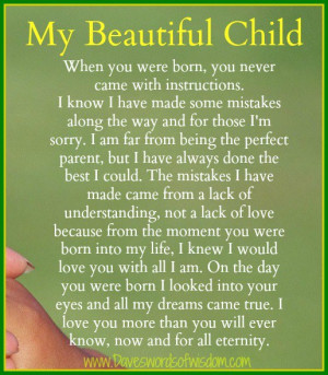 my unborn daughter quotes