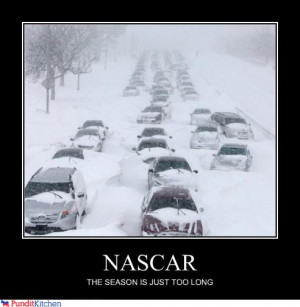 NASCAR THE SEASON IS JUST TOO LONG (Chicago snowstorm) LoL by ...
