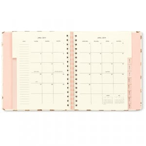 love the clean-lines of the month at a glance pages!