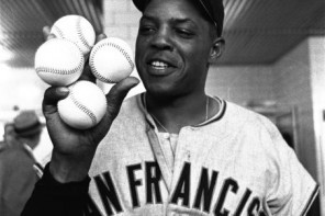 Apr. 30, 1961 – Willie Mays hit four home runs against the Milwaukee ...
