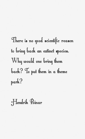 Hendrik Poinar Quotes amp Sayings